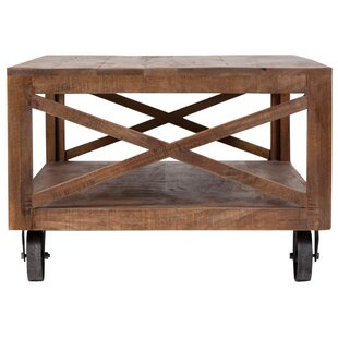 Loon Peak Lepore Barn Door Coffee Table