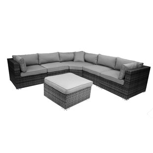 India 6 Piece Sectional Set with Cushions