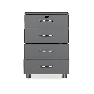 Malibu 4 Drawer Chest by Tenzo Today Only Sale