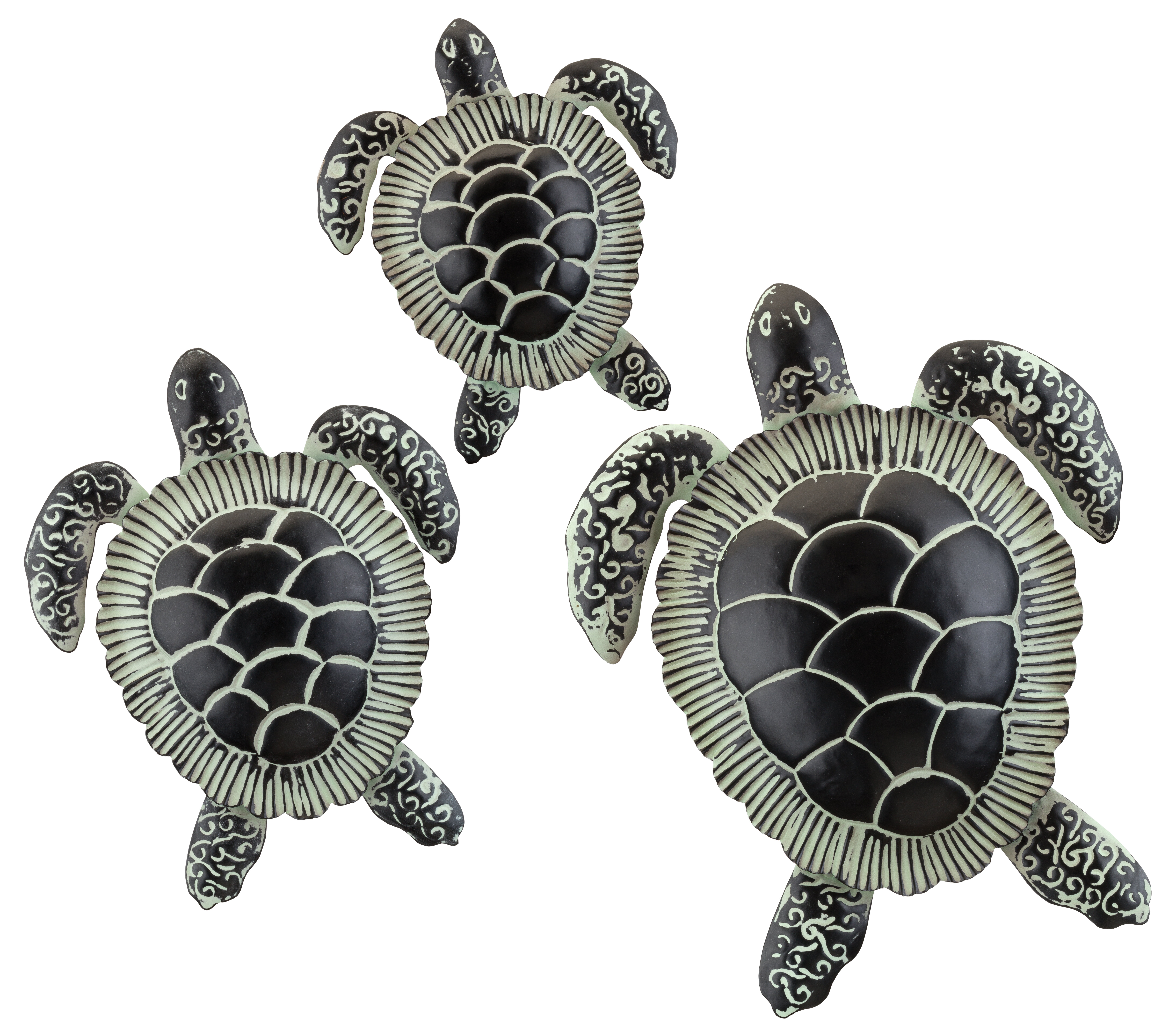 3 Piece Sea Turtle Wall Decor Set
