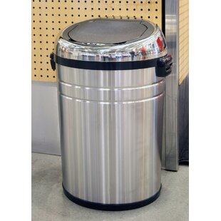 Stainless Steel 18 Gallon Motion Sensor Trash Can