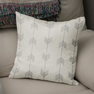 Afternoon Shower Accent Cotton Throw Pillow