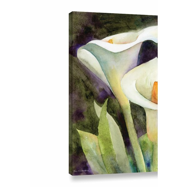 Alcott Hill Calla Lily Painting Print On Wrapped Canvas Reviews Wayfair