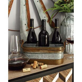 Craver 6 Bottle Tabletop Wine Bottle Rack
