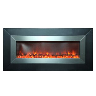 Defeo Wall Mounted Fireplace by Orren Ellis