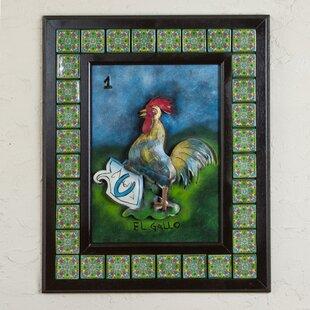 Ceramic Rooster Decor Wayfair
