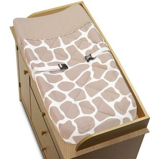 Affordable Giraffe Changing Pad Cover By Sweet Jojo Designs