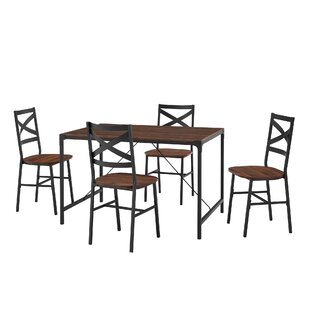Review Armando Dining Set With 4 Chairs