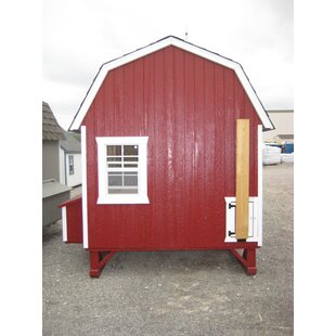 Gambrel Barn Chicken House With Ramp And Nesting Box By Little Cottage Company