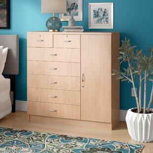 Zipcode Design Roselyn 7 Drawer Combo Dresser