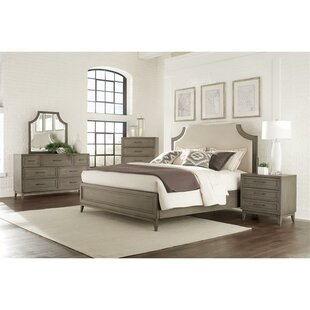 Workman Upholstery Panel Configurable Bedroom Set by Gracie Oaks