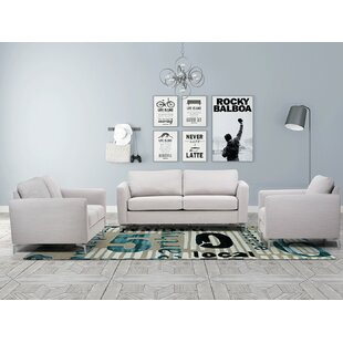 Purchase Scannell Sleeper Living Room Set by Orren Ellis Reviews (2019) & Buyer's Guide