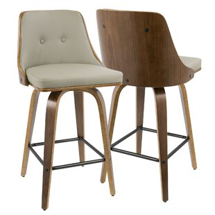 Alexa 26 Swivel Bar Stool (Set of 2) by Langley Street