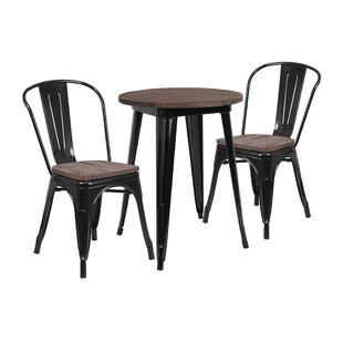Mull 3 Piece Dining Set by Williston Forge Best