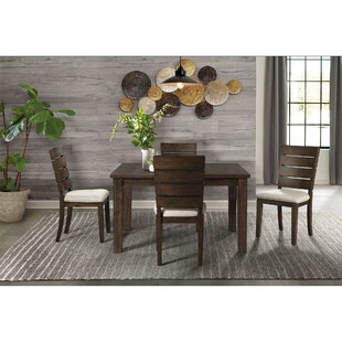 Burkhart 5 Piece Dining Set Gracie Oaks