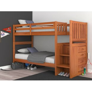 Herculaneum Twin Over Twin Bunk Bed by Harriet Bee Cool