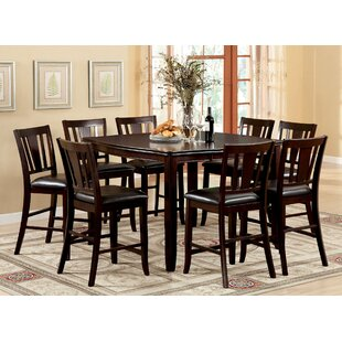 Fritz Jimmy 9 Piece Counter Height Dining Set
