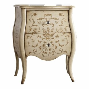 Hooker Furniture Melange Ariana Hand Painted 2 Drawer Chest