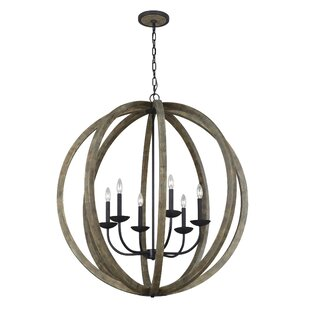 Check Prices Flavien 6-Light Chandelier By Laurel Foundry Modern Farmhouse