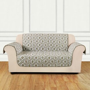 Furniture Flair Box Cushion Loveseat Slipcover
