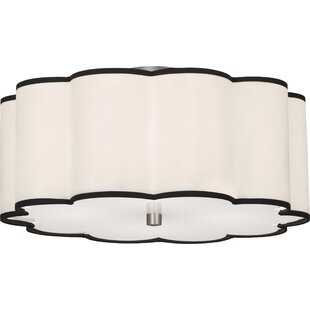 Robert Abbey Axis 4-Light Flush Mount
