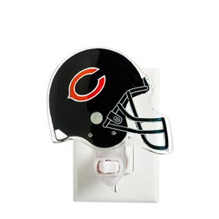 Team Sports America NFL Glass Night Light