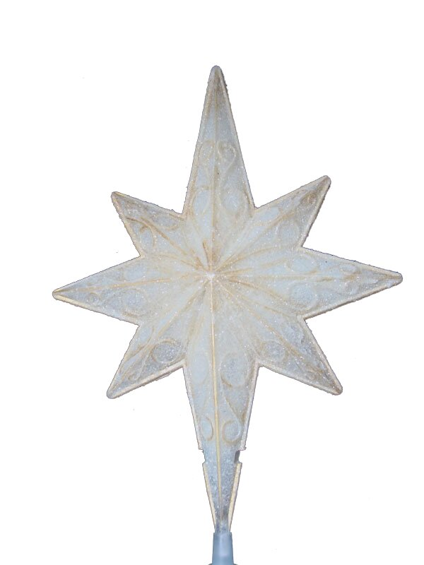 christmas star topper
