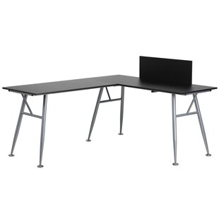Wade Logan Rawley L-Shape Computer Desk