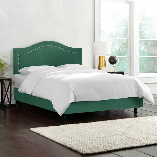 Willa Arlo Interiors Doleman Upholstered Wood Frame Panel Bed ...