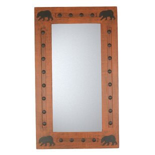 My Amigos Imports Bears Wild Rustic Accent Mirror