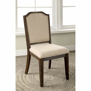 Antonio Upholstered Dining Chair (Set of 2) by One Allium Way SKU:AC566682 Description
