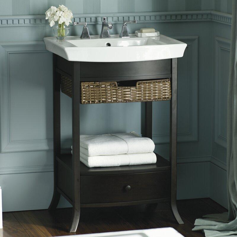pedestal bathroom sinks. Artifacts 24  Pedestal Bathroom Sink Kohler Reviews Wayfair