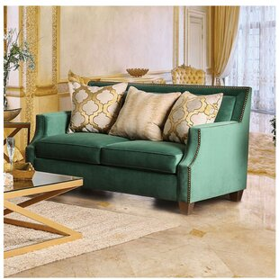 Leavell Loveseat by Everly Quinn