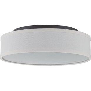 Modern flush mount lighting allmodern save mozeypictures Choice Image