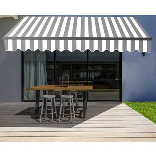 ALEKO Fabric Replacement For 13x10 Ft Retractable Awning Blue Color