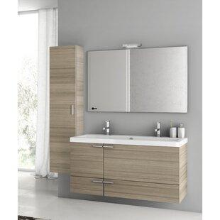 New Space 47 Double Bathroom Vanity Set by ACF Bathroom Vanities