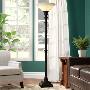 Order Boulevard 73 Torchiere Floor Lamp By Three Posts
