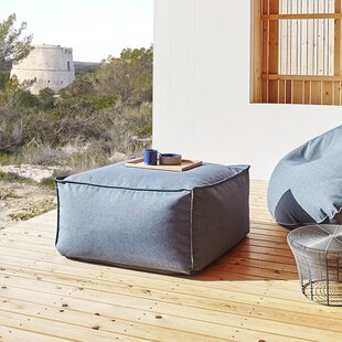 Sail Square Outdoor Ottoman by Gandia Blasco