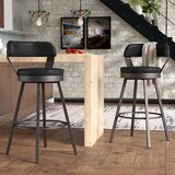 Berrin Swivel Counter & Bar Stool (Set of 2) by Trent Austin Design®