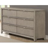 Horrell 6 Drawer Double Dresser by Foundry Select