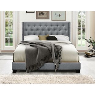 Gloucester Upholstered Panel Bed by Greyleigh Best