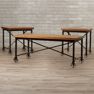 Beldibi 3 Piece Coffee Table Set