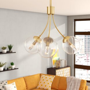 Langley Street 3-Light Sputnik Chandelier