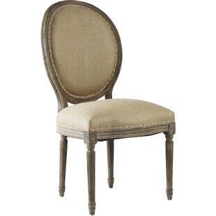 Zentique Medallion Side Chair in Hemp - Natural