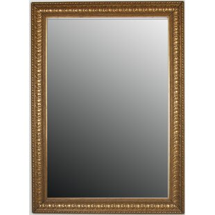 Price Check Hawkinson Beaded Accents Wall Mirror By Astoria Grand
