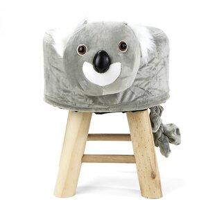Price comparison Children's Favorite Koala Animal Kid Stool and Ottoman ByMind Reader