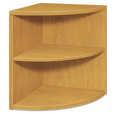 10500 Series Corner Unit Bookcase Basyx Finish Harvest