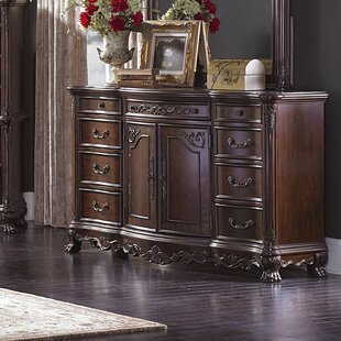 Astoria Grand Chalus 9 Drawer Combo Dresser