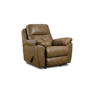 Barnett Manual Rocker Recliner by Simmons Upholstery