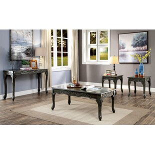 Ressie 3 Piece Coffee Table Set
